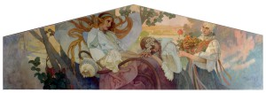 Thermia-Mucha painting